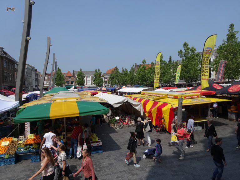 Markt in Goes, Zeeland
