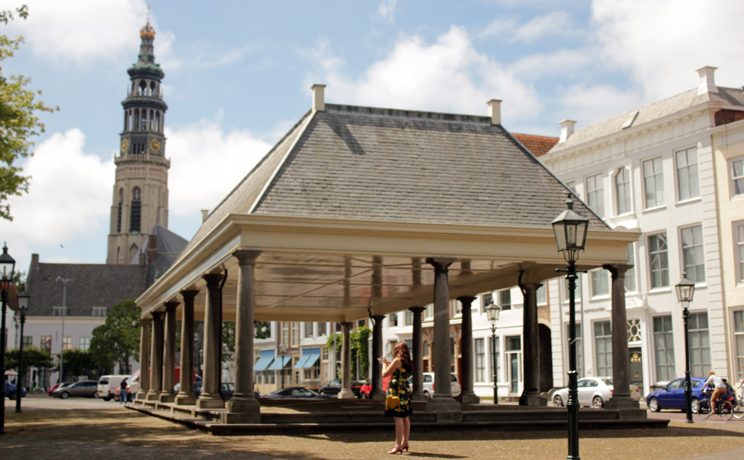 Damplein in Middelburg