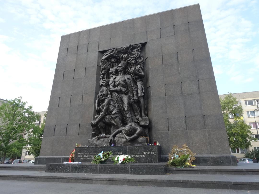 Holocaust route Warschau Getto