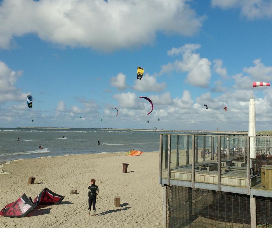 Kitesurfen in Zeeland