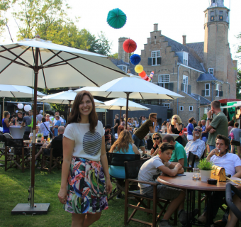 Het knusse Fletcher Foodtruck festival bij Slot Moermond