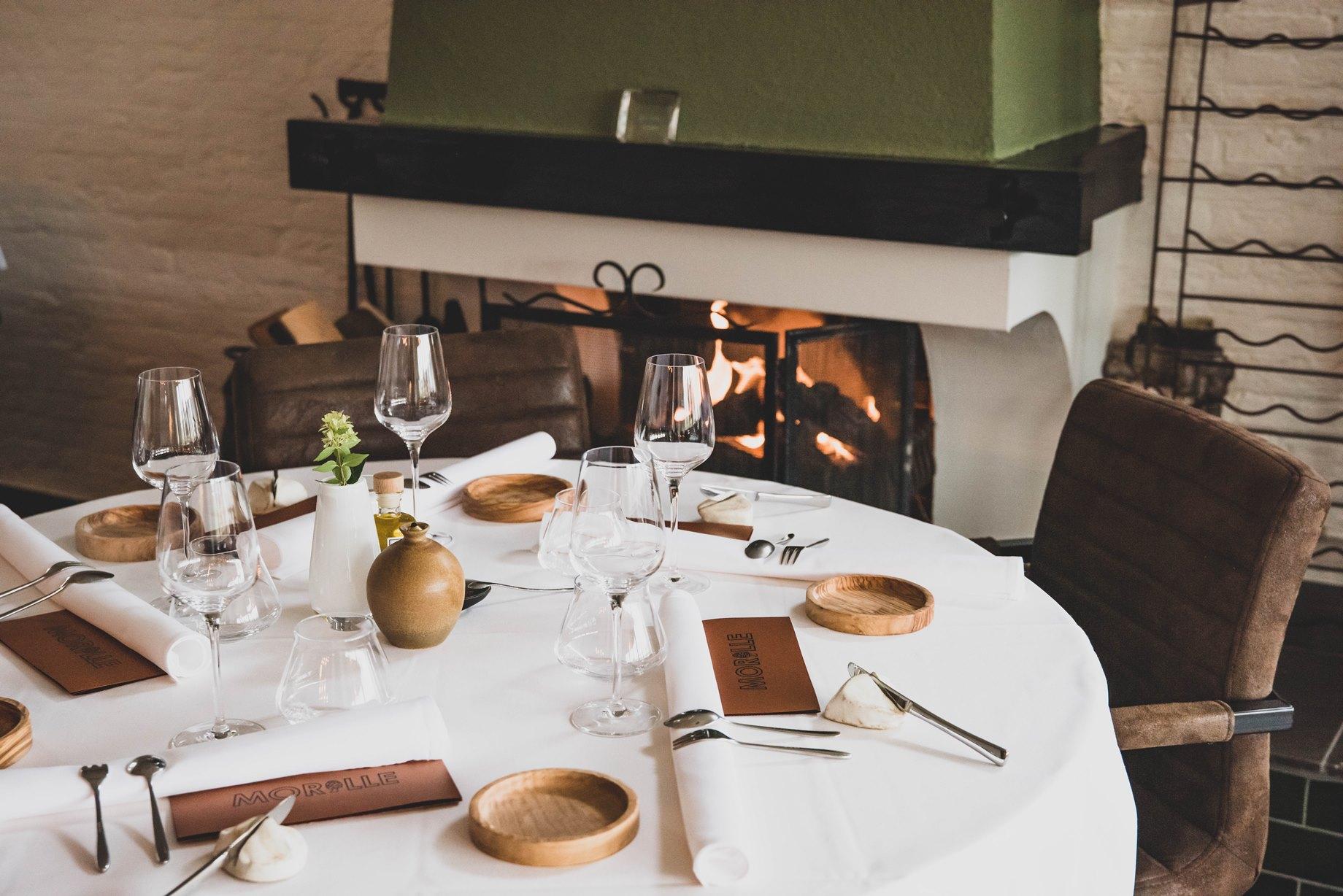 Zeeuws restaurant Morille in Koudekerke verrast met eten uit de natuur