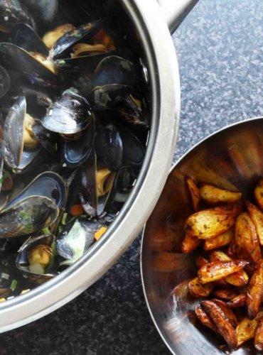Gekookte mosselen: een superlekker en simpel recept.